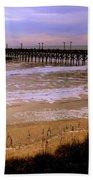 Surf City Pier Hand Towel
