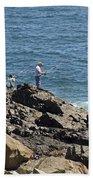 Surf Fishing Bath Towel