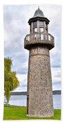 Surreal Lighthouse Bath Towel