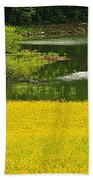 Susans Gold Pond Bath Towel