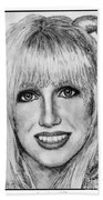 Suzanne Somers In 1977 Bath Towel