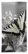 Swallowtail Butterfly Bath Towel