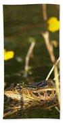 Swamp Muscian Bath Towel