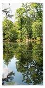 Swampland Reflection At The Plantation Bath Towel