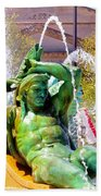 Swann Fountain Gods Bath Towel