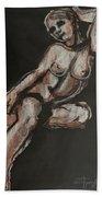 Sweet Little Mystery - Nudes Gallery Bath Towel