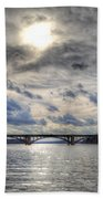 Swift Island Bridge 4 Bath Towel
