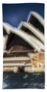 Sydney Opera House V11 Bath Towel