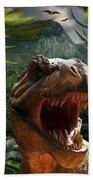 T-rex Bath Towel