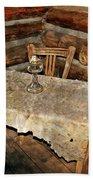 Table For Three Bath Towel
