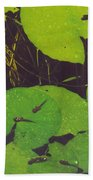 Tadpoles Bath Towel