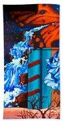 Tahlequah Graffiti Bath Towel