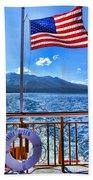 Tahoe Queen Lake Tahoe By Diana Sainz Bath Towel