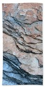 Tahoe Rock Formation Bath Towel