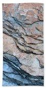 Tahoe Rock Formation Bath Towel