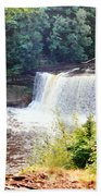 Tahquamenon Falls Bath Towel