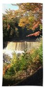 Tahquamenon Falls With My Iphone Bath Towel
