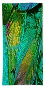 Tail Feathers Bath Towel