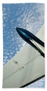 Tail Of The Airplane Bath Towel