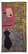 Talking Head Bath Towel