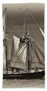 Tall Ship II Bath Towel