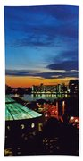 Tampa Sunset Bath Towel