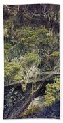 Tangled Neighbors Of The Lone Cypress Bath Towel