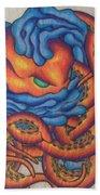 Tangled Octopus Bath Towel
