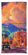 Taos Inn Monsoon Bath Towel