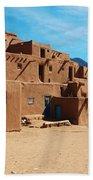 Taos Pueblo 4 Bath Towel