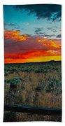 Taos Sunset Xi Bath Towel