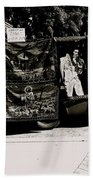 Tapestries Of  Elvis Presley  Hawai Concert Jesus Christ Sheep Horses Flags Armory Park Tucson Az Bath Towel