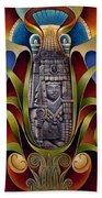 Tapestry Of Gods - Chicomecoatl Hand Towel