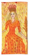 Tarot 3 The Empress Hand Towel