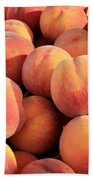Tasty Peaches Bath Towel