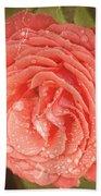 Tattered Rose Bath Towel