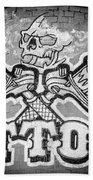 Tattoo Parlor Sign In Rough Neighborhood  Bath Towel