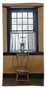Tavern Window And Chair Bath Towel