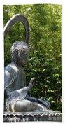 Tea Garden Buddha Bath Towel