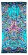 Teal Starfish Bath Sheet by Derek Gedney