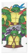 Teenage Mutant Ninja Turtles  Bath Towel