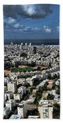 Tel Aviv Center Hand Towel