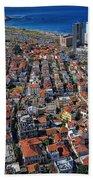Tel Aviv - The First Neighboorhoods Bath Towel