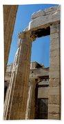 Temple Maze Of Columns Hand Towel
