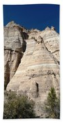 Tent Rocks 1 Bath Towel