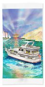 Terifico At Anchor Bath Towel
