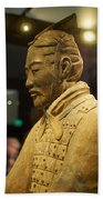 Terracotta Soldiers Bath Towel