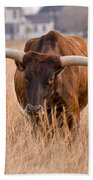Texas Longhorn Bath Towel
