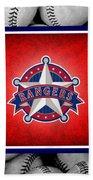 Texas Rangers Bath Towel