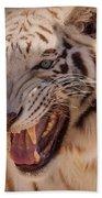 Textured Tiger Bath Towel